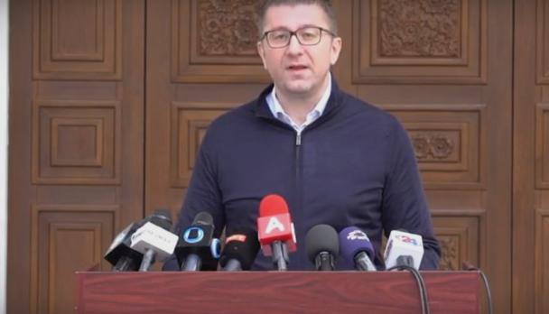 Мицкоски: Компромис за изборите треба да се постигне за интересот на народот и државата, но не по цена на здравјето на граѓаните