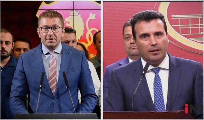 Денеска прв изборен ТВ дуел Мицкоски – Заев
