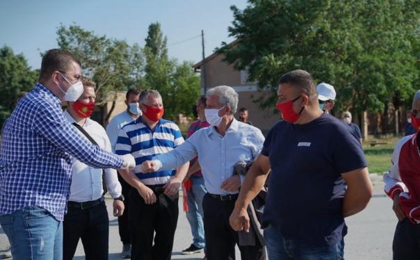 Мицкоски: Гласот за СДСМ и Беса коалицијата е глас за политичари од минатото потрошени и без нови идеи
