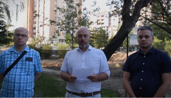 Антовски: Марин плаќа половина милион евра за парк кој е веќе изграден, а нема пари за да ги ослободи родителите од плаќање паушал за градинки