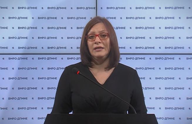 Димитриеска Кочоска: Во аферата Еуростандард, над 20 милиони евра кредити се делени на струмички компании блиски до власта