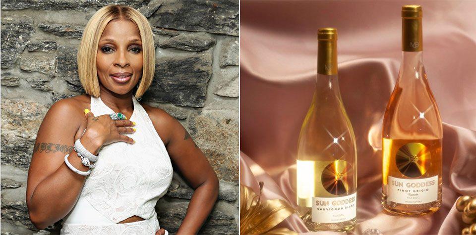 Виното Sun Goddess Rose на Mary J Blige пристигна и во Македонија