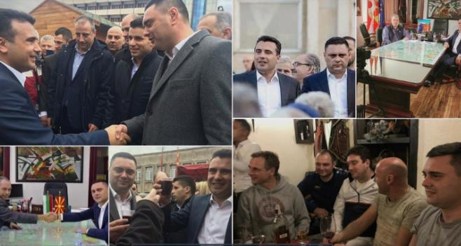 Митко Јанчев слави со Вице Заев, ќе протестира за Зоран Заев – СДСМ си најде спаринг партнер во градоначалникот на Кавадарци