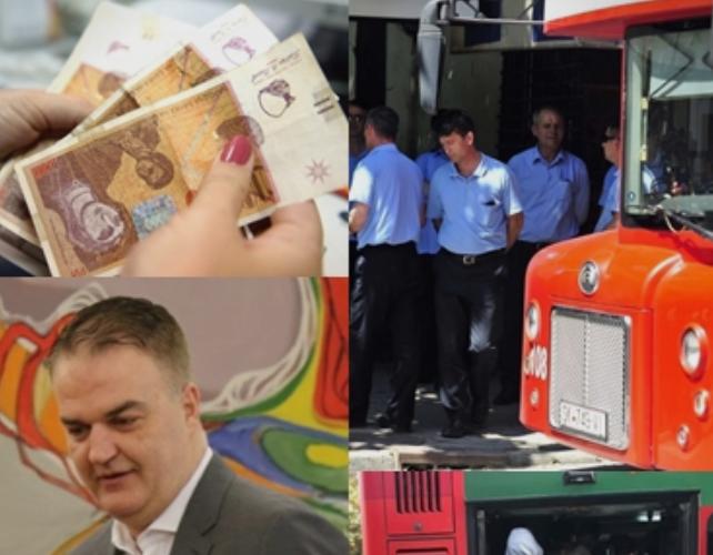 ЈСП стана најголем загубар во земјава: Возачите немаат земено плата, владата ќе го крпи претпријатието со 2 милиони евра