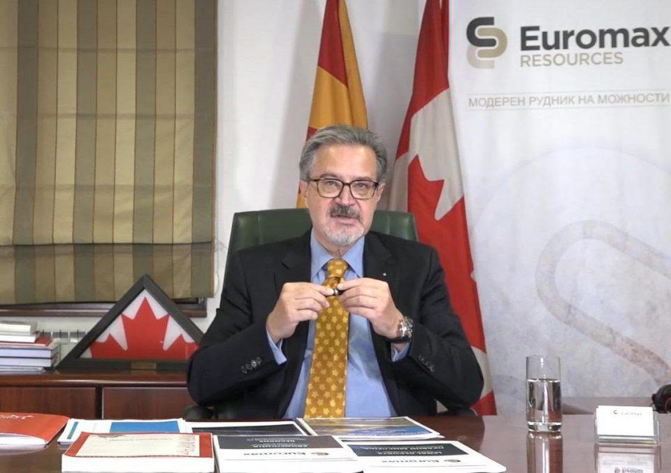 Еуромакс ресоурцес апелира политичарите да не манипулираат со Иловица-Штука затоа што може брзо да ја заздрави македонската економија