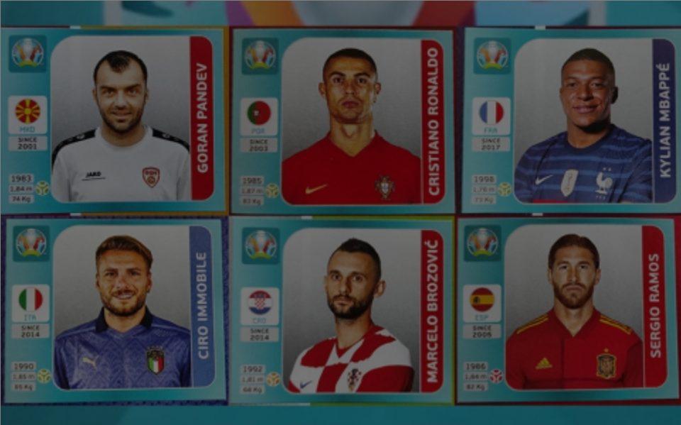Зошто македонските фудбалери во албумот на Panini се по маици?